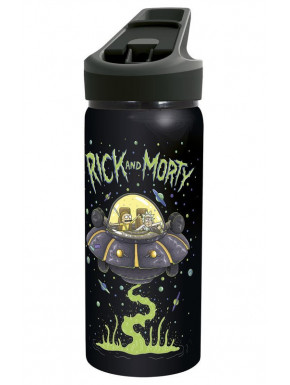 Botella Rick y Morty Nave