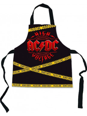 Delantal Logo ACDC