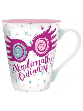 Taza Luna Lovegood Blanca Harry Potter