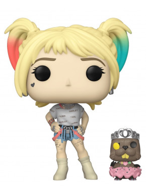 Funko Pop! Harley Quinn and Beaver Birds of Prey