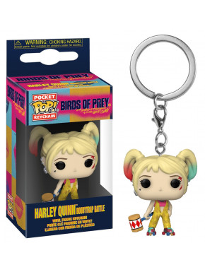 Llavero mini Funko Pop! Harley Quinn Birds of Prey Boobytrap battle