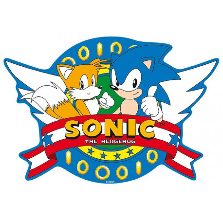 Alfombrilla Sonic the Hedgehog Opening