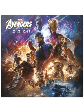 Calendario pared 2020 Avengers Marvel