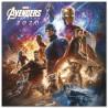 Calendario pared 2020 Avengers Marvel