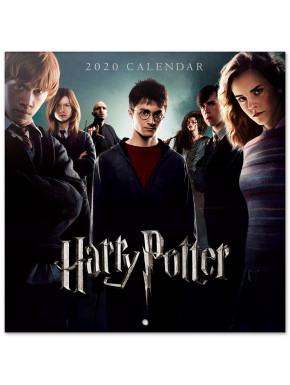 Calendario pared 2020 Harry Potter 30x30