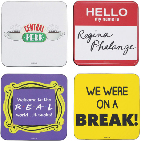 Set Posavasos Quotes Friends