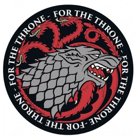 Alfombrilla Stark Vs Targaryen Juego de Tronos