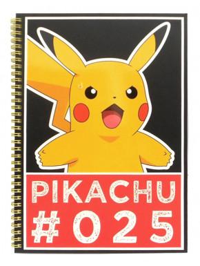 Libreta Pokemon A4 Pikachu