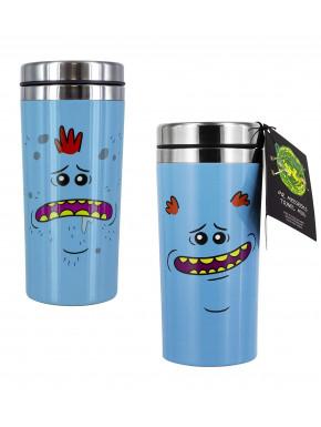 Taza de Viaje Rick & Morty Mr Meeseeks