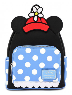 Bolso mochila Loungefly Minnie Mouse Polka Dot