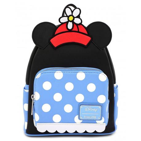 Bolso mochila Loungefly Minnie Mouse Polka Dot