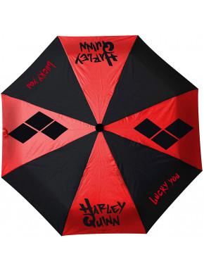 Paraguas Plegable Harley Quinn DC Comics
