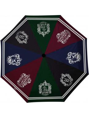Paraguas Harry Potter Multicolor Casas