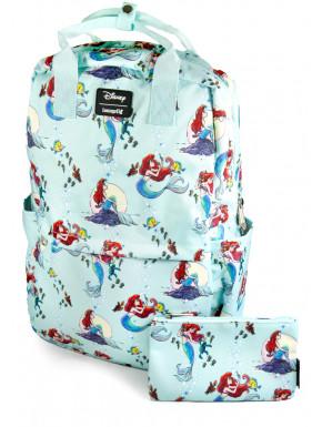 Pack Loungefly Ariel mochila y estuche