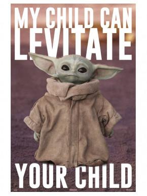 Póster Baby Yoda The Mandalorian Star Wars