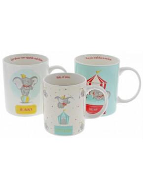 Set de tazas Dumbo Disney