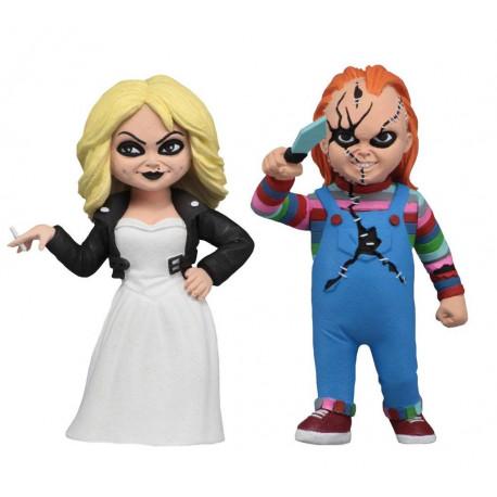 Pack de 2 Figuras La Novia de Chucky 15 cm