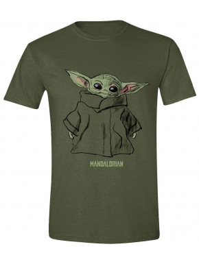 Camiseta Baby Yoda Boceto The Mandalorian Star Wars
