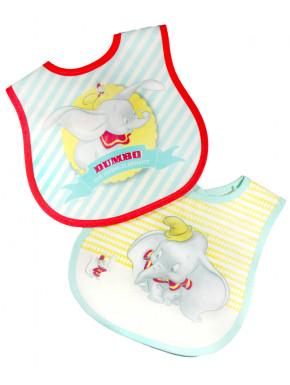 Set de 2 Baberos Dumbo Disney