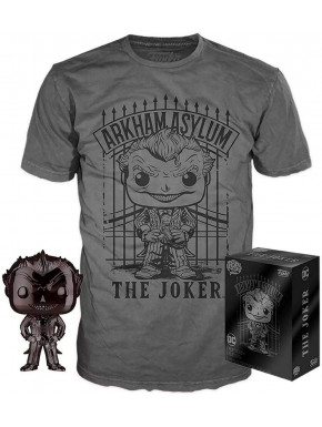 Set de Minifigura y Camiseta The Joker DC Comics