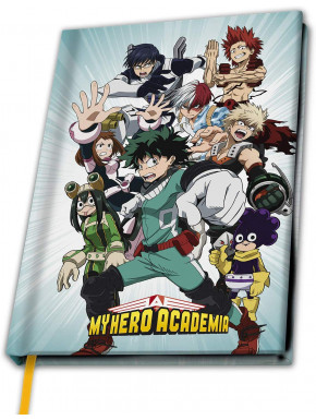 Libreta Premium A5 My Hero Academia
