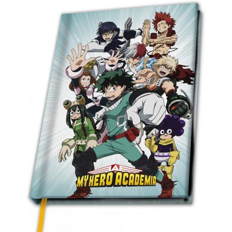 Libreta Premium A5 My Hero Academy