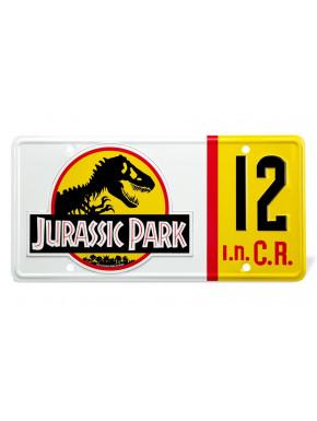 Réplica Matrícula Jurassic Park