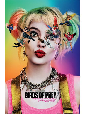Póster Birds Of Prey Harley Quinn