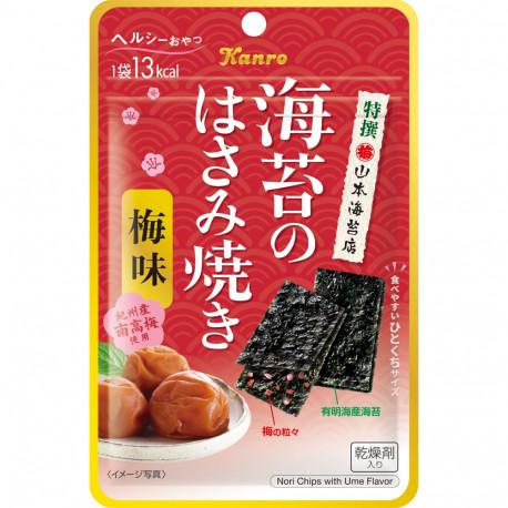 Snack de Alga Nori con Umeboshi 4 gr Kanro