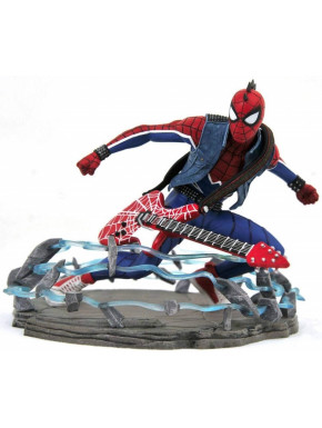 Figura Diorama Spider-Man Spider-punk Marvel Diamond Select 18 cm