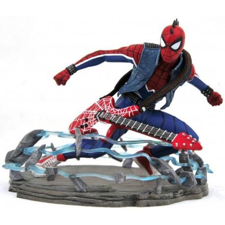 Figura Diorama Spider-Man Spider-punk Marvel Diamond Select 18 cm