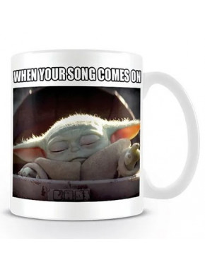 Taza Baby Yoda The Mandalorian Star Wars Song