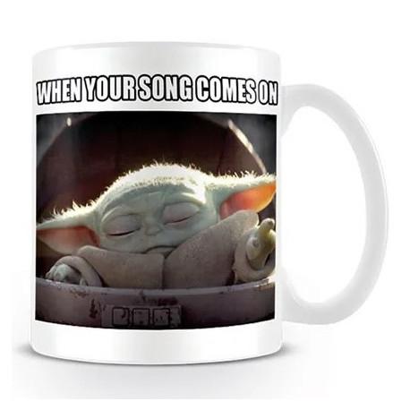 Taza Baby Yoda The Mandalorian Star Wars
