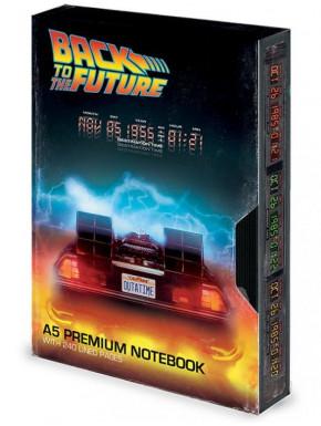 Libreta premium A5 Regreso al Futuro VHS