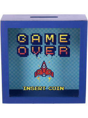 Hucha Game Over Insert Coin