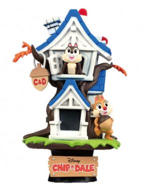 Figura Diorama Chio & Dale Disney