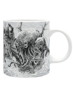 Taza Cthulhu Lovecraft