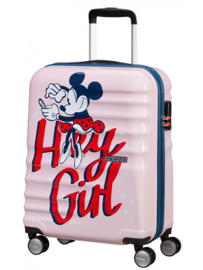 Maleta Cabina Minnie Hey Girl Disney American Tourister55 cm