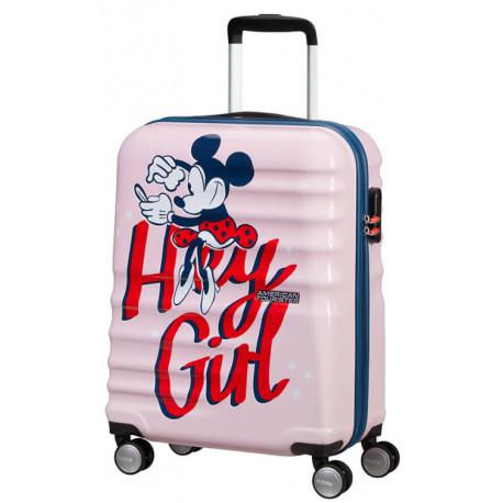 Maleta Cabina Minnie Hey Girl Disney American Tourister55 cm