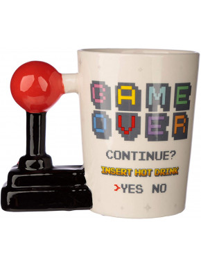 Taza 3D Game Over Joystick