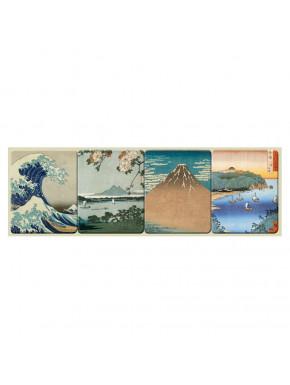 Set imanes Arte Japonés
