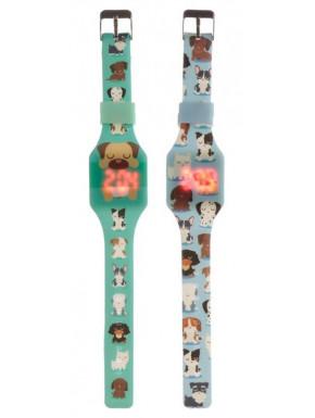 Reloj de Silicona Perros
