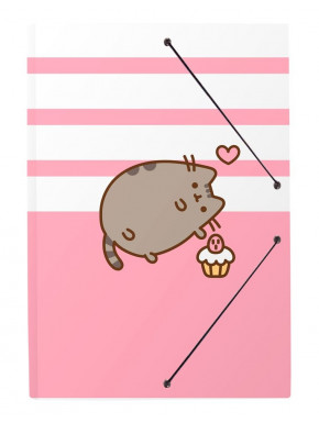 Carpeta A4 Pusheen Rosa