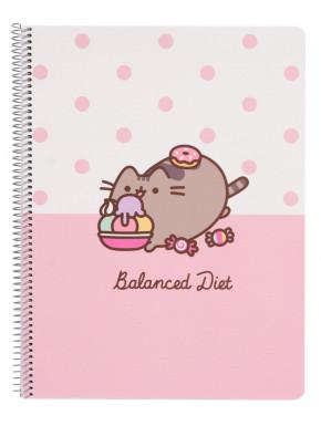 Cuaderno A4 Pusheen Diet
