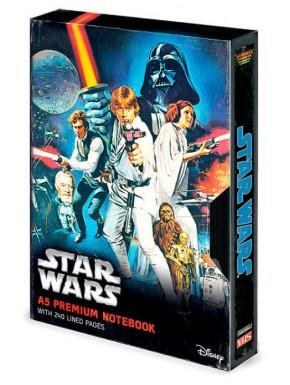 Libreta Premium A5 Star Wars VHS