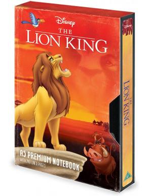 Libreta Premium A5 El Rey León VHS Disney