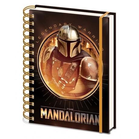 Libreta The Mandalorian A5 Star Wars