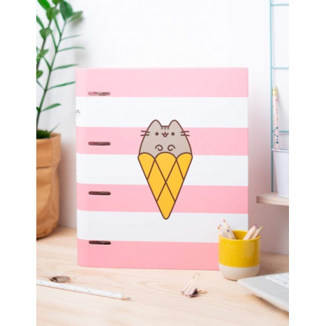 Archivador Carpeta Pusheen Helado