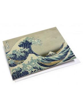 Set de Postales en Lata Arte Japonés