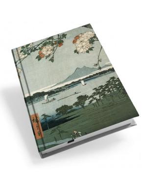 Libreta Santuario Suijin y Massaki en el río Sumida